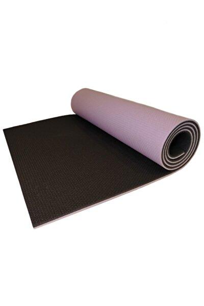 Yukon 8,5 Mm Çift Taraflı Mor Siyah Pilates Matı Iz Yapmaz Kaymaz Egzersiz Minderi