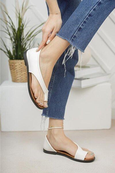 Kadın Parmak Arası Ayakkabı Sandalet