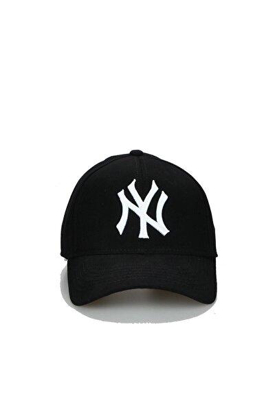 Unisex Siyah Ny New York Şapka