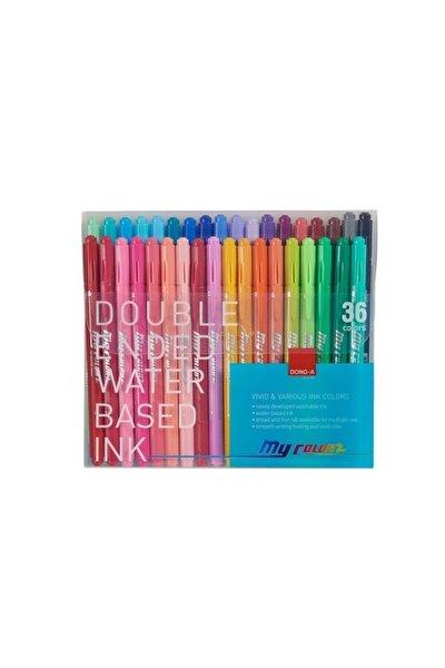 My Color 2 Çift Taraflı Keçeli 36 Renk Set