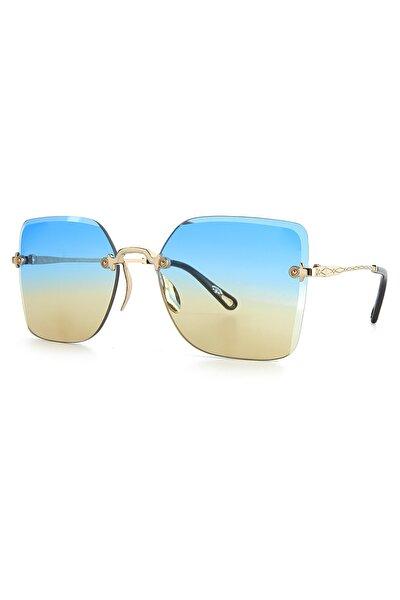 Kadın Altın Güneş Gözlüğü Apss067113