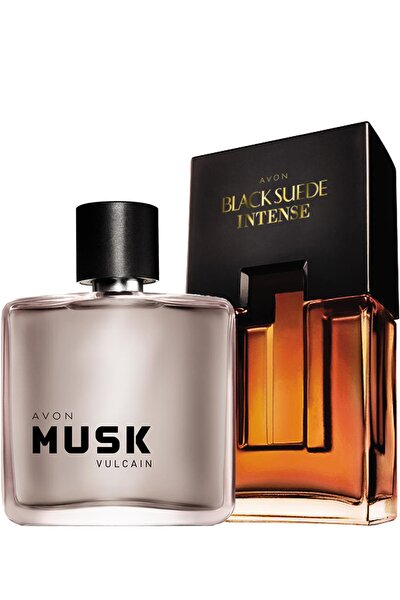 Musk Vulcain Ve Black Suede Intense Erkek Parfüm Paketi
