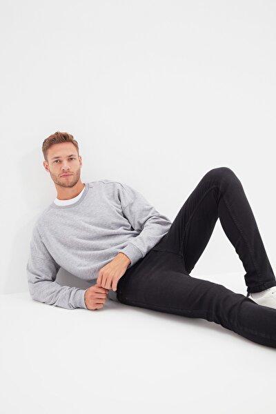 Siyah Erkek Skinny Jeans TMNAW20JE0211