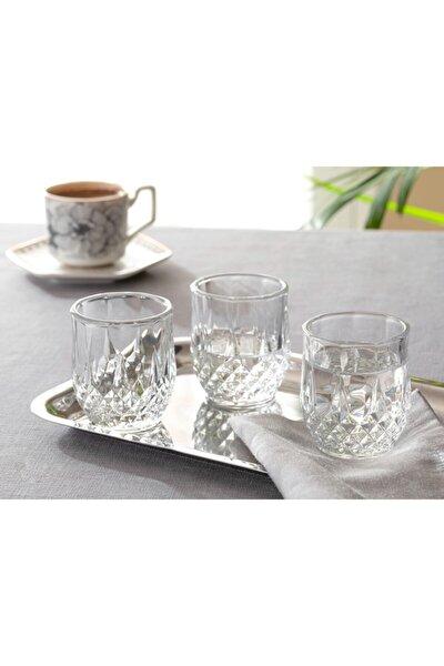 Rich Cam 6'lı Kahve Yanı Su Bardağı 50 Ml Şeffaf