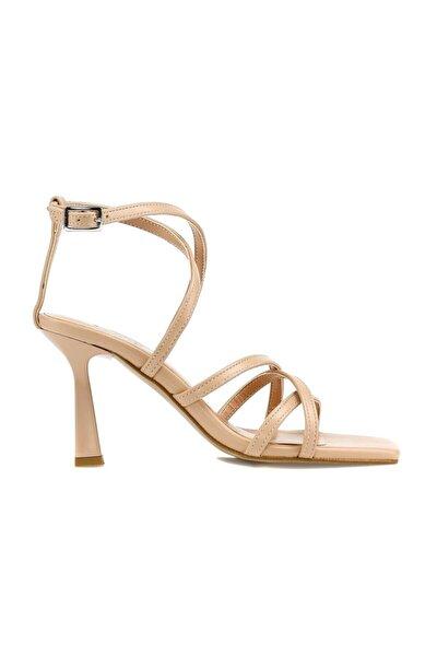 Blazıng.z 1pr Ten Kadın Topuklu Ayakkabı