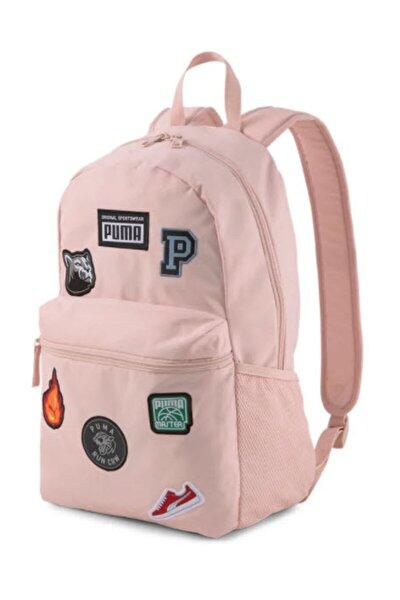 Patch Backpack Unisex Pembe Sırt Çantası - 07856102