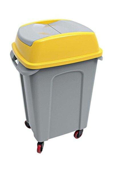 Hippo Eko Seri Çöp Kovası Sarı 50 Lt Up-220