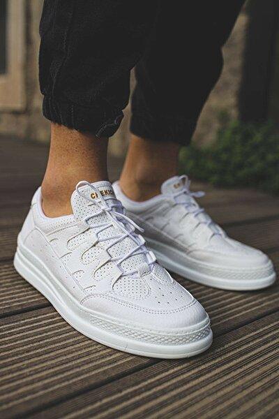 Beyaz Erkek Sneaker Ch040
