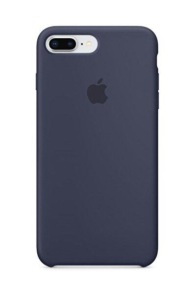 Iphone 8 Plus Silicon Case - Midnight Blue