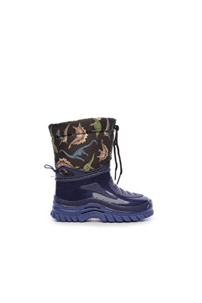 Mavi Çocuk Pvc Yağmur Çizmesi Çizme 104 662 L UNI CZM 24-34