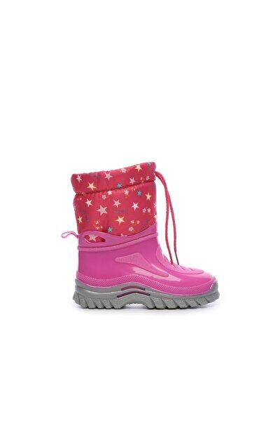 Pembe Çocuk Pvc Yağmur Çizmesi Çizme 104 659 L UNI CZM 24-34