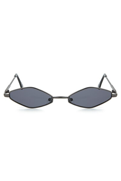Kadın Siyah Minimal Güneş Gözlüğü Apss067250