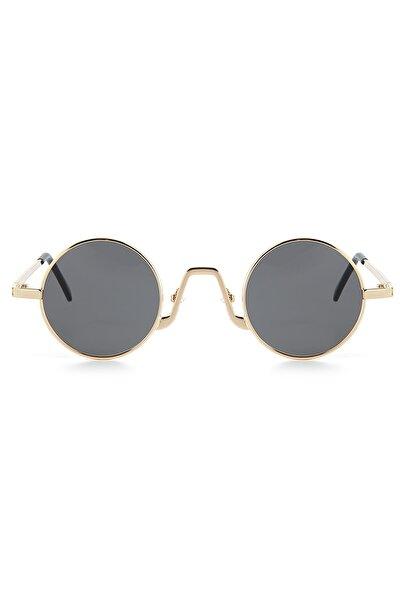 Kadın Altın Minimal Güneş Gözlüğü Apss067140