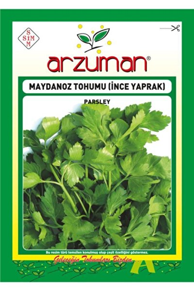 Ince Maydanoz Tohumu 12500 Tohum 25 Gram