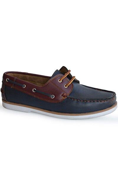 Beyaz Laci Bordo Loafer Erkek Ayakkabı Timbex.101