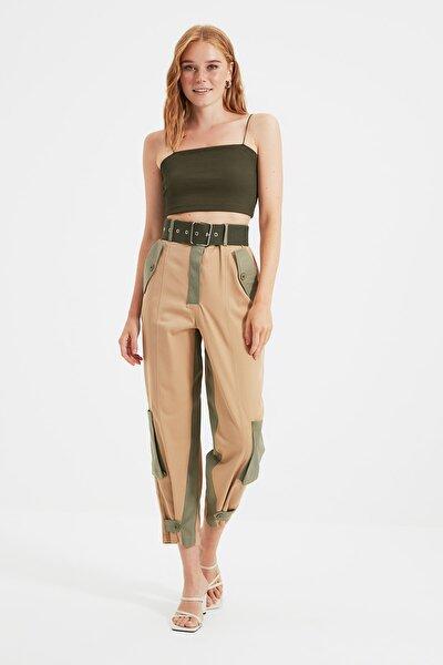 Çok Renkli Cep Detaylı Pantolon TWOSS21PL0678