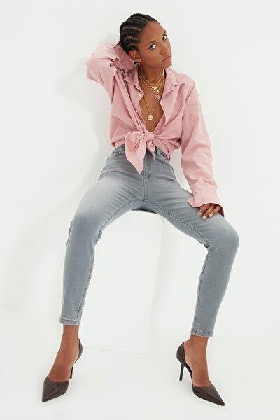 Gri Normal Bel Skinny Jeans TWOAW22JE0365
