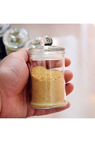 6 Adet Vakum Kapaklı Mini Boy 150 ml Cam Baharatlık Kavanoz