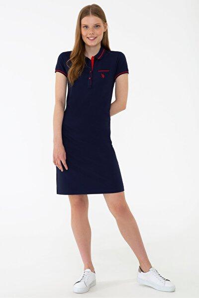 Lacıvert Kadın Elbise