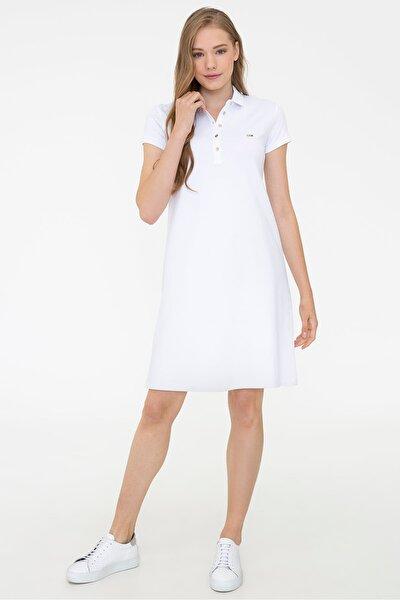 Beyaz Kadın Elbise