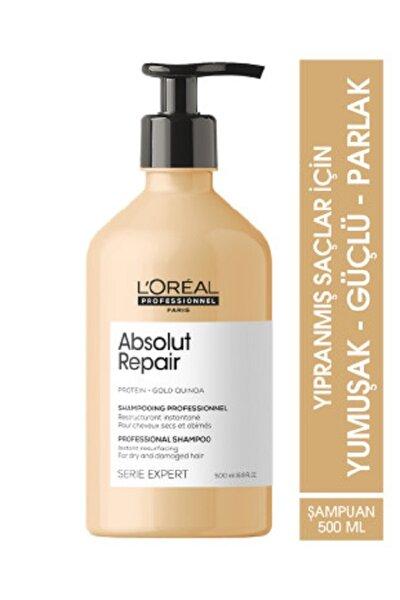 Serie Expert Absolut Repair Yıpranmış Saçlar Için Onarıcı Şampuan 500 Ml