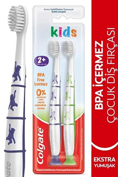 2+ Yaş Yapışkan Tabanlı Ekstra Yumuşak Bpa Içermeyen Çocuk Diş Fırçası