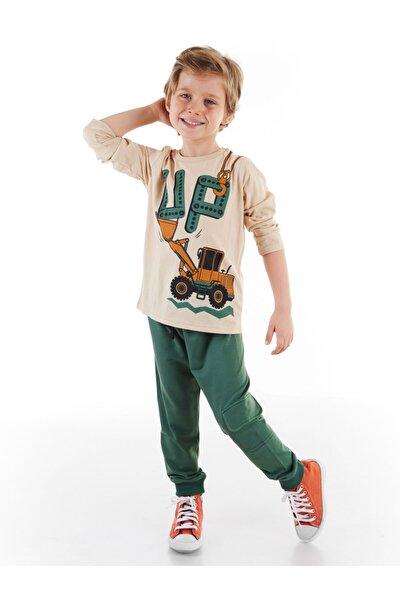 Up Dozer Erkek Çocuk Pantolon Takım