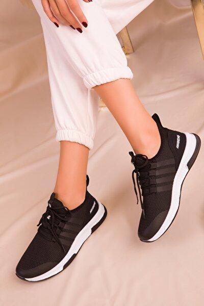 Kadın Siyah Sneaker 15195
