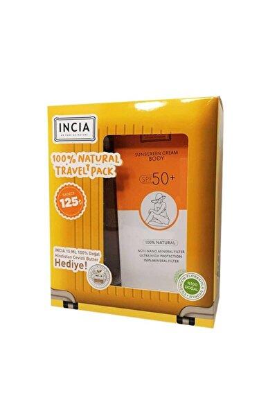 Doğal Vücut Güneş Kremi  Kofre  Spf 50 150 ml