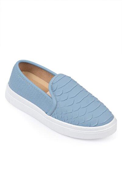Capone 030 Kadın Slipon Bağcıksız Spor Ayakkabı Sneaker