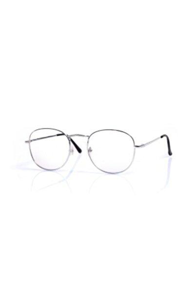 Unisex Güneş Gözlüğü Rnd0g Gümüş Şeffaf