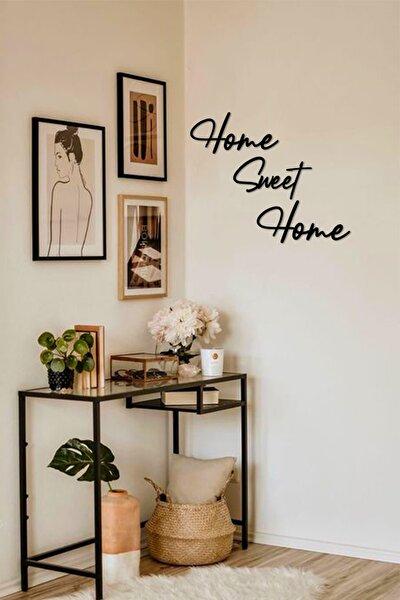 Home Sweet Home Ev Dekorasyonu Duvar Yazısı Tablo