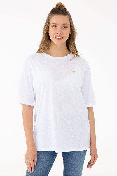 Beyaz Kadın T-Shirt