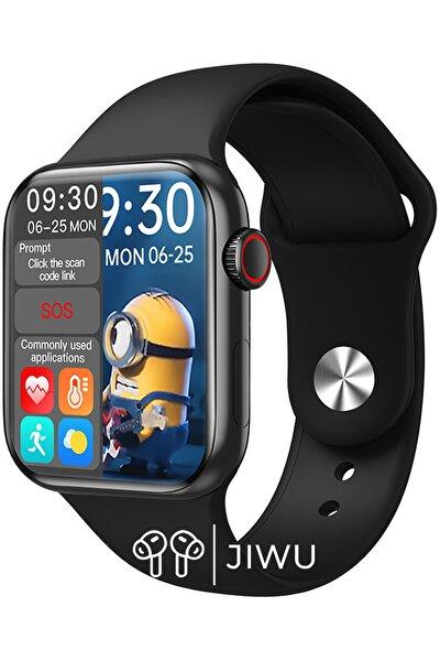 Hw16 Premium Series Ip67 Suya Dayanıklı Nabız & Tansiyon Ölçer Ios Ve Android Uyumlu Akıllı Saat