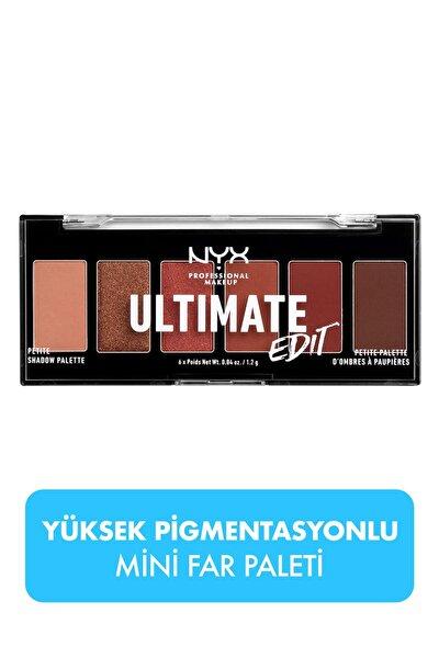 Göz Farı Paleti - Ultimate Edit Petite Shadow Palette Warm Neutrals 800897182571