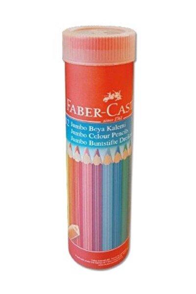 Faber Boya Kalemi 12 Renk.üçgen Jumbo T.by Yl 116615 /