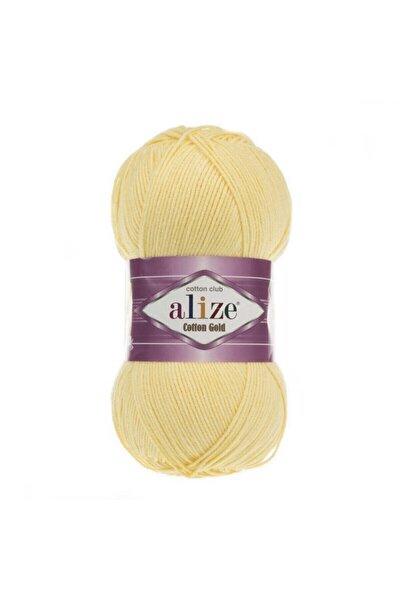 Açık Sarı Cotton Gold Amigurimi El Örgü Ipi 187