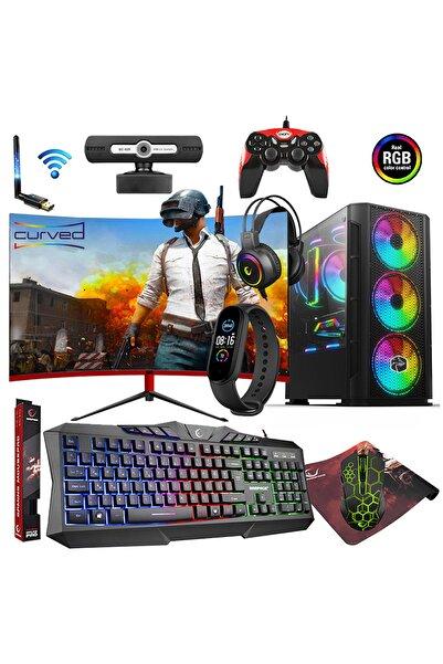 """Fx50 I5-3470 16gb 1tb + 240gb 4gb 23.8"""" Oyuncu Bilgisayarı"""