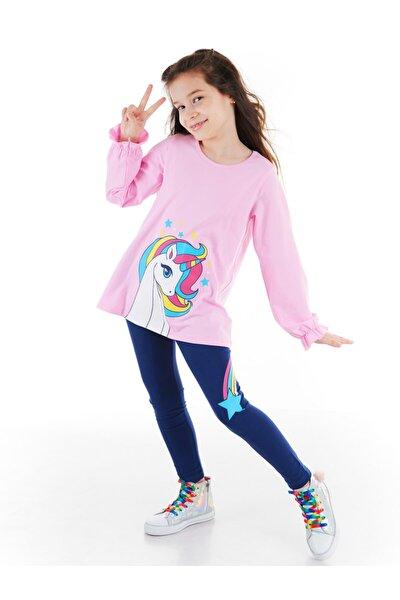 Rainbow Star Kız Tunik Takım