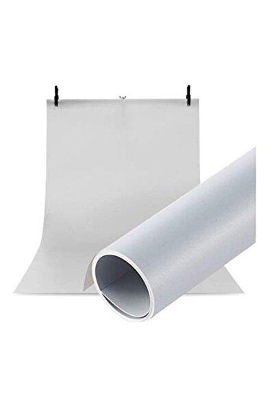 Ürün Çekim Fotoğraf Fonu Beyaz Plastik Stüdyo Çekim Fonu 70x100 Cm - Özel Karton Tüp Ruloda