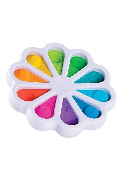 Pop It Push Bubble Stres Çarklı Özel Dimple Eğitici Oyuncak