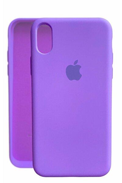Iphone X Xs Lansman Logolu Içi Kadife Renkli Silikon Kılıf X Kılıf