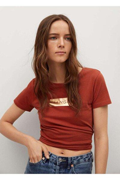 Geri Dönüştürülmüş Pamuklu Logolu Tişört