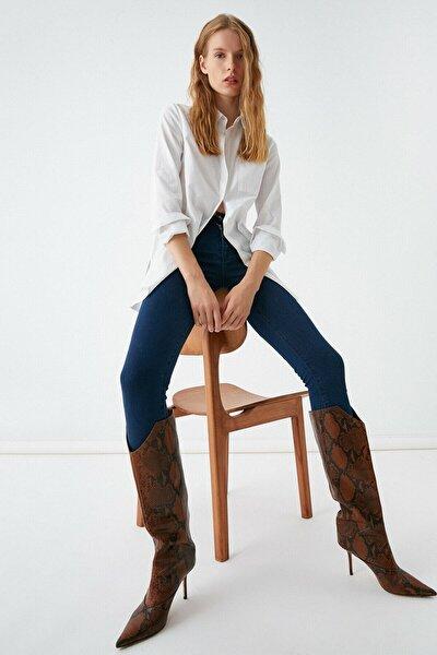 Kadın Mıd Indıgo Jeans 1KAK47330DD