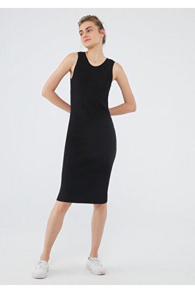 Siyah Triko Elbise 171513-900