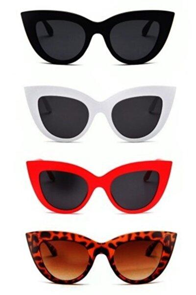 Kadın Güneş Gözlüğü 4 Lü Set Catsetyvr4