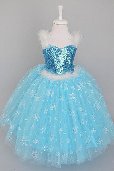 Mavi Elsa Elbise