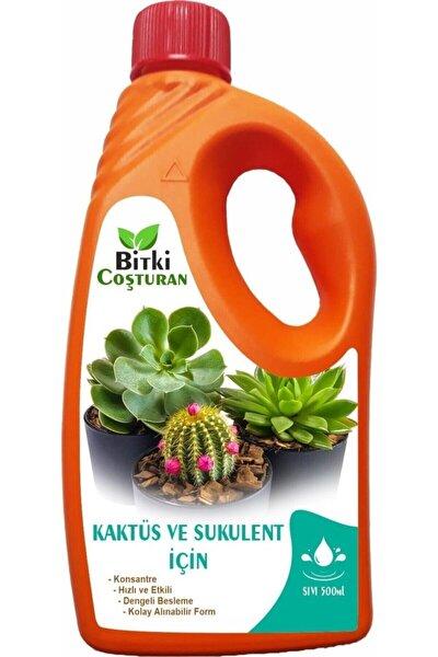 Bitki Coşturan Kaktüs Sukulentler İçin Bitki Besi Sıvı Gübre  Konsantre 500 ml