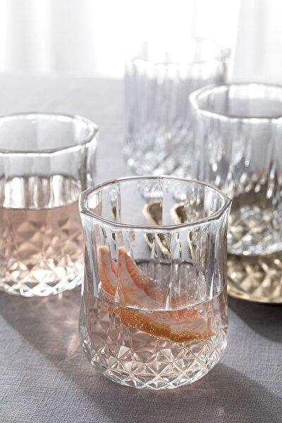 Rich Cam 4'lü Meşrubat Bardağı 200 Ml Şeffaf