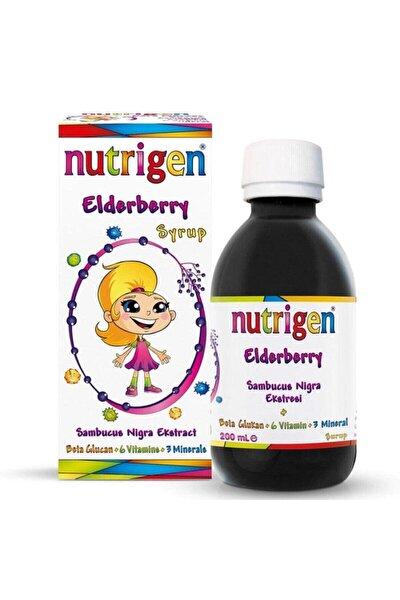 Elderberry Kara Mürver Beta-glukan Bal Şurup 200 ml